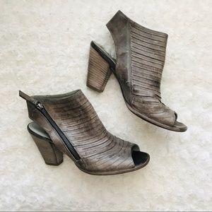 Paul Green Block Heels Leather 6